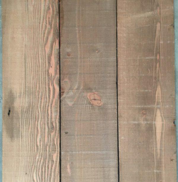 Reclaimed Douglas fir cladding