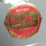 Vintage Benjamin light shade