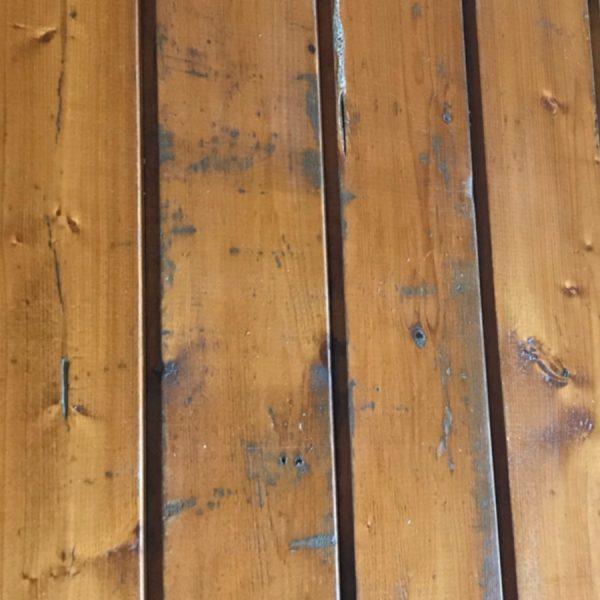 Reclaimed 100mm matchboard