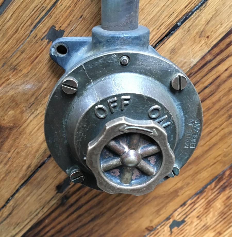 Vintage Niphan industrial switch