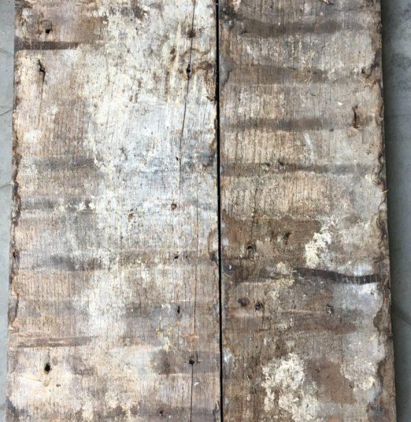 Georgian oak floorboards (rear of boards)