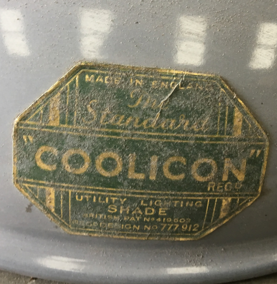 Grey coolicon factory shade