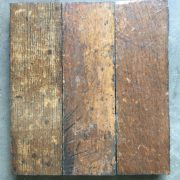 Reclaimed oak parquet
