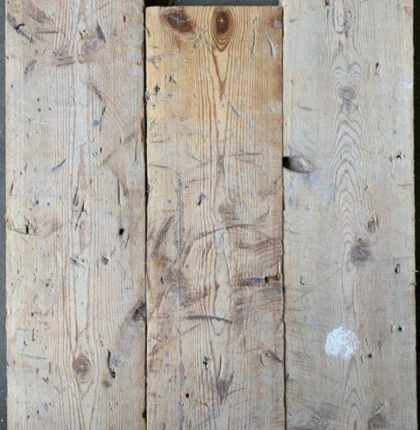 Reclaimed 135mm floorboards