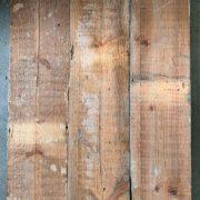 Reclaimed 135mm floorboards (rear of boards)
