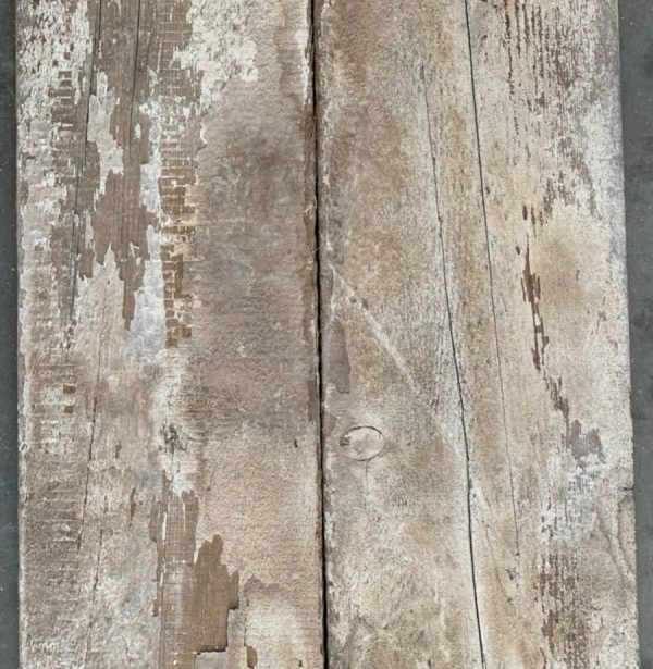 Re-sawn reclaimed pine boards 220mm (rear of boards)