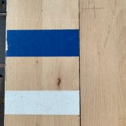 Reclaimed beech gym flooring (Gym markings)