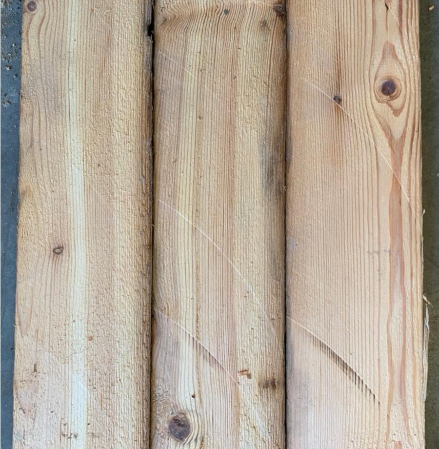 Reclaimed re-sawn pine board