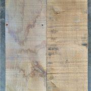 Rough sawn oak cladding