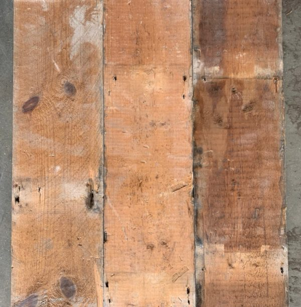 Reclaimed 157mm floorboard (rear of boards)