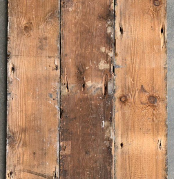 Reclaimed 168mm floorboard (rear of boards)