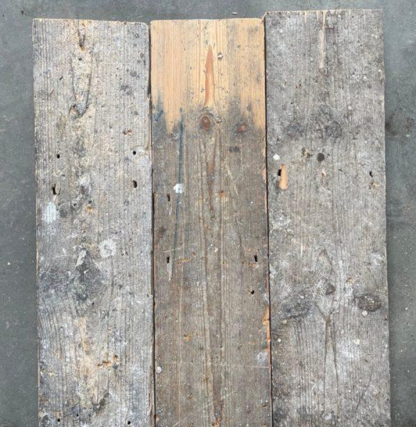 147mm reclaimed floorboards