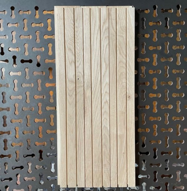 Long oak blocks (rear of blocks)